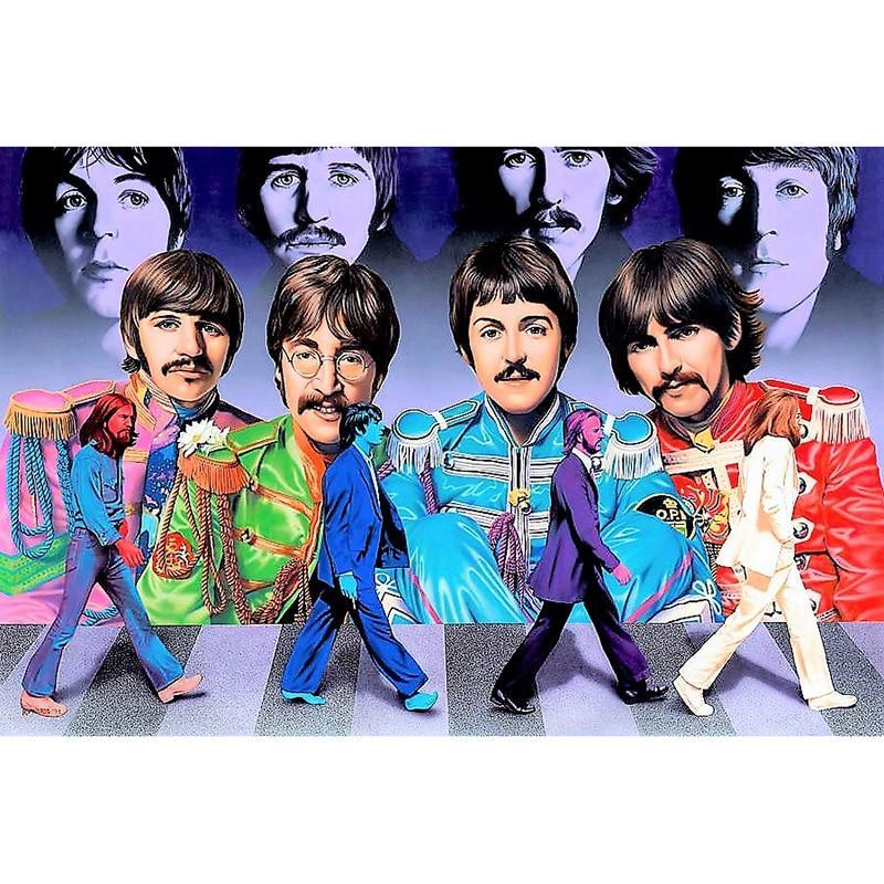 Forever Beatles Diamond Painting Kit - DIY