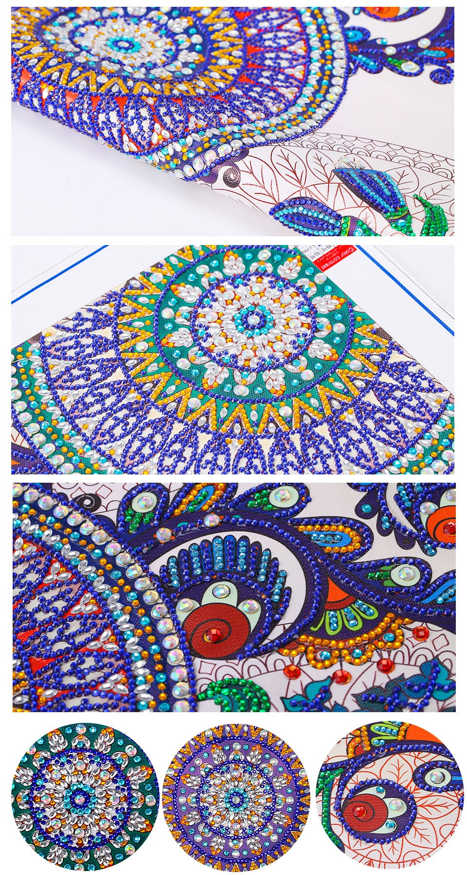 Special Shaped Mandalas Diamond Painting Kit - DIY