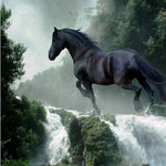 Horse Waterfall Diamond Painting Kit - DIY