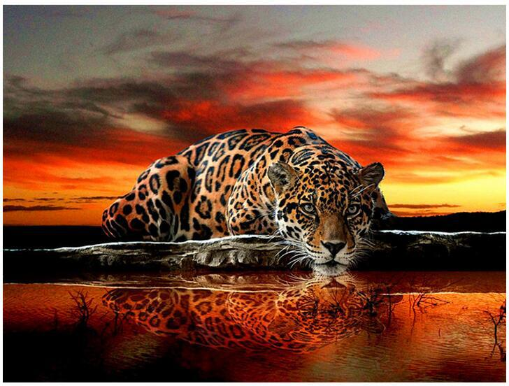 Tattoo Tiger Diamond Painting Kit - DIY