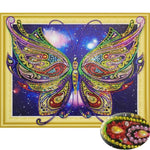 Special Shaped Butterfly Diamond Painting Kit - DIY