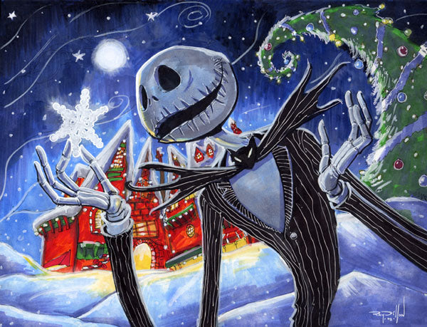 Jack Skellington Christmas Diamond Painting Kit - DIY