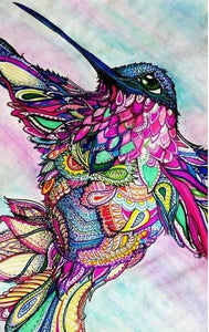Hummingbird Colors Diamond Painting Kit - DIY
