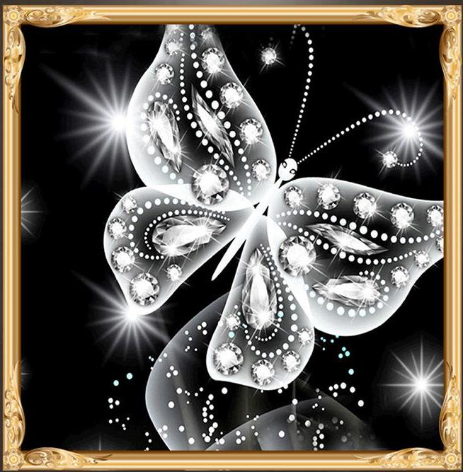 Butterfly Special Shaped Diamond Painting Kit - DIY