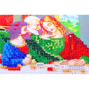 Special Shaped The Last Supper Diamond Painting Kit - DIY