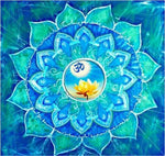 Mandala Blue Diamond Painting Kit - DIY