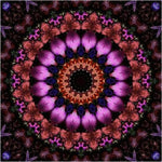 Mandala Purple Diamond Painting Kit - DIY