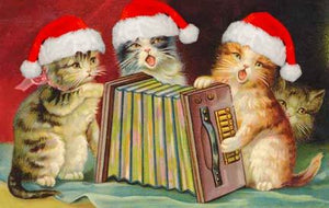 Cat Christmas Funny Diamond Painting Kit - DIY