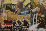 5d Fireman Firefighter Diamond Painting Kit Premium-23