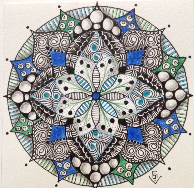 Mandala Diamond Painting Kit - DIY Mandala-11