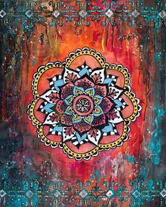 Mandala Diamond Painting Kit - DIY Mandala-13