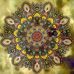 Mandala Diamond Painting Kit - DIY Mandala-15