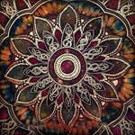 Mandala Diamond Painting Kit - DIY Mandala-36