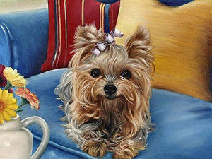 Yorkie Art Diamond Painting Kit - DIY