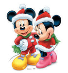 Mickey And Minnie Christmas Diamond Painting Kit - DIY