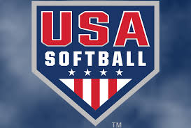 USA Softball Diamond Painting Kit - DIY