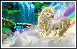 Unicorn Diamond Painting Kit - DIY Unicorn-43