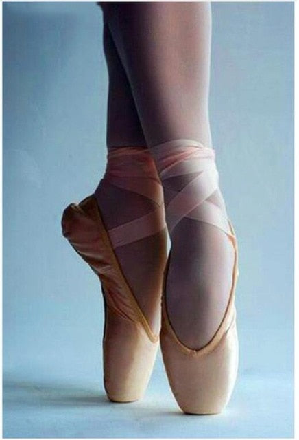 Ballet Dancer Feet Diamond Painting Kit - DIY