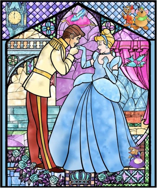 The Cinderella Diamond Painting Kit - DIY