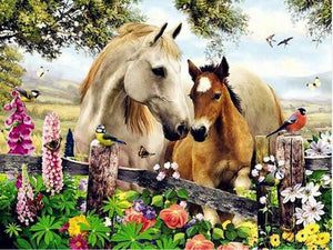 Horses Mon Diamond Painting Kit - DIY