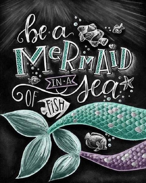 Mermaid Kitchen Diamond Painting Kit - DIY