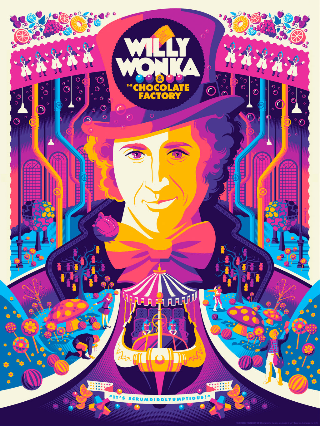 Willy Wonka Colors Painting Kit - DIY