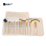 VANDER 18pcs Professional Makeup Brushes Champagne Gold Make Up