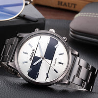 Reloj Mujer Men's Watches Fashion Crystal Stainless Steel