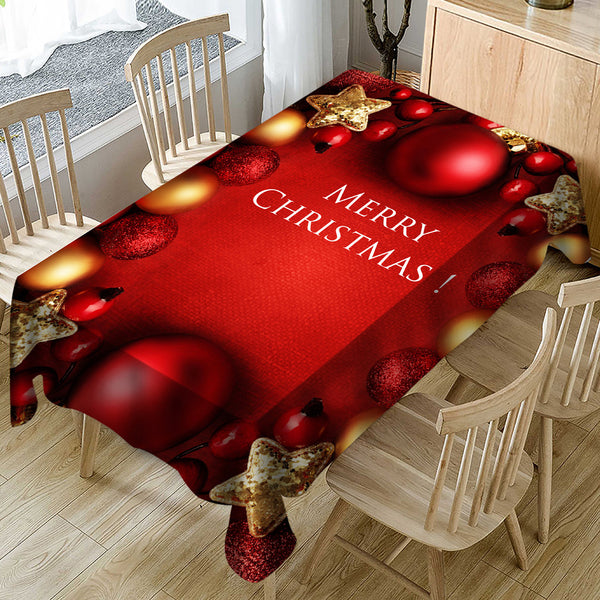Chirstmas gift New year 2019 Table Cover decor for christmas tabel