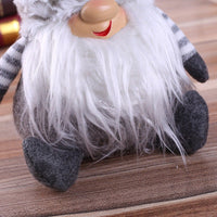 Cute Santa Claus Plush Doll Christmas Decoration