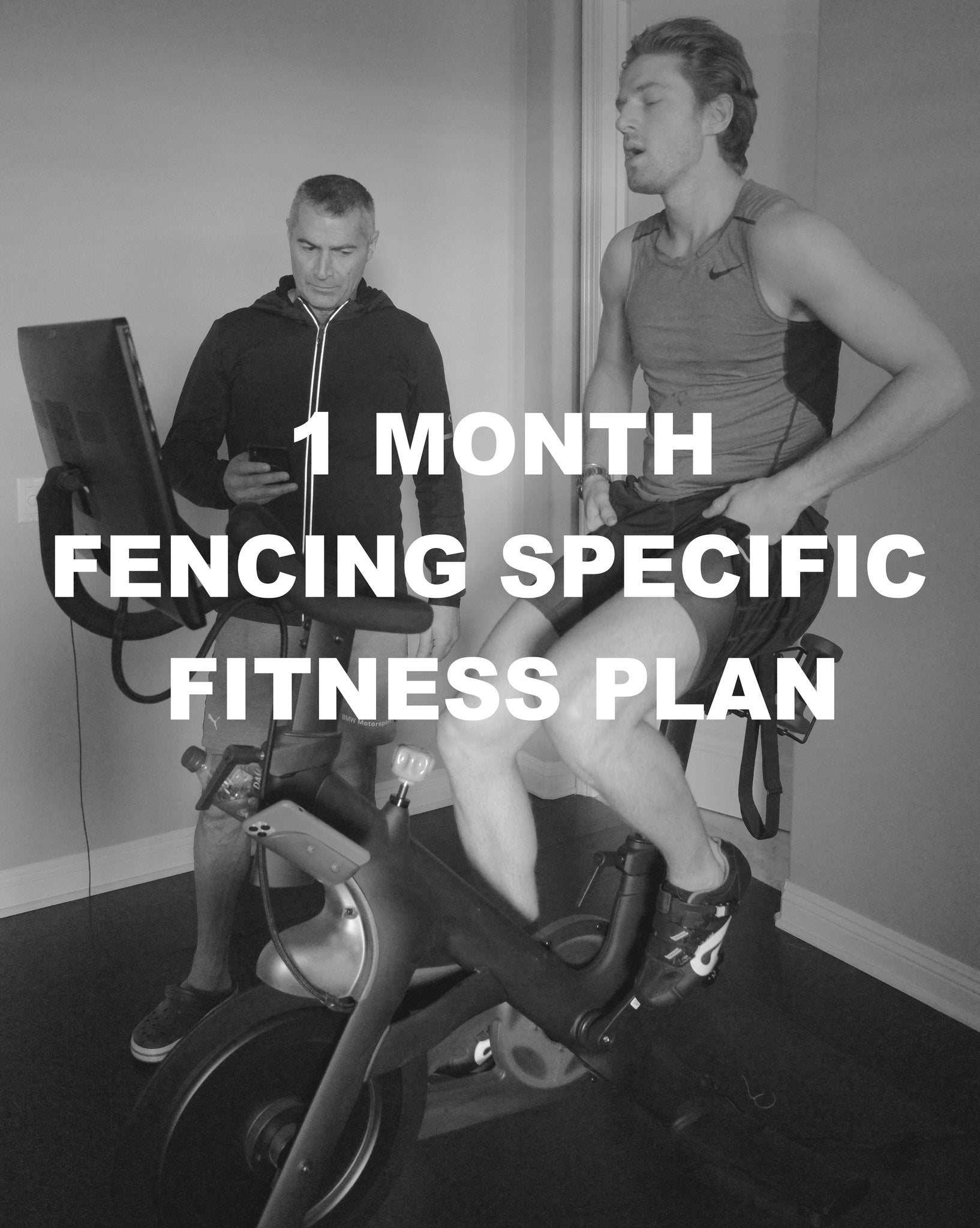 1 Month Fencing Specific Fitness Plan