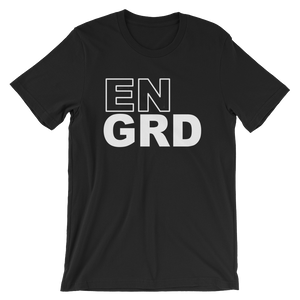 EnGrd Stacked Logo Tee - Short-Sleeve Unisex T-Shirt