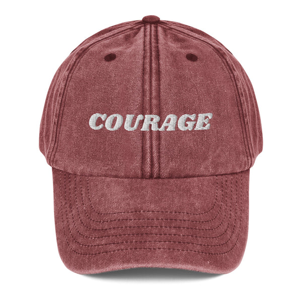 I am Courageous! Dad Hat