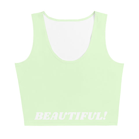 I am Beautiful! CropTop