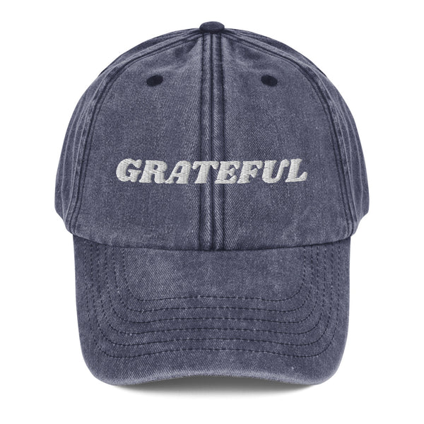 I am Grateful! Dad Hat