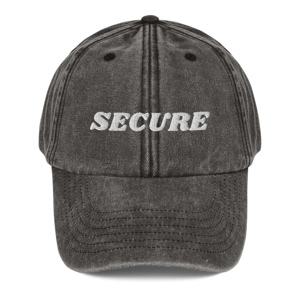 I am Secure! Dad Hat