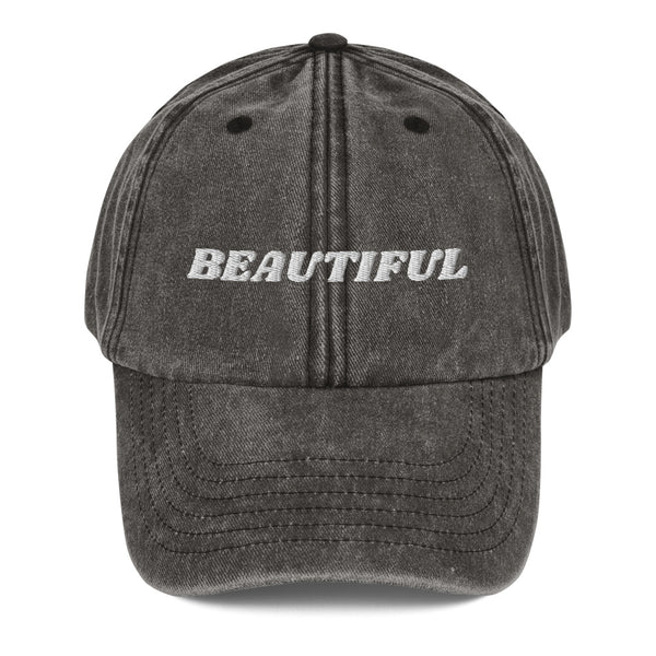 I am Beautiful! Dad Hat