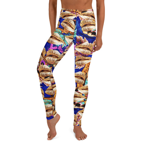 I am Love! Yoga Leggings