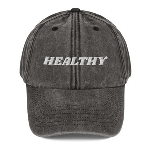 I am Healthy! Dad Hat