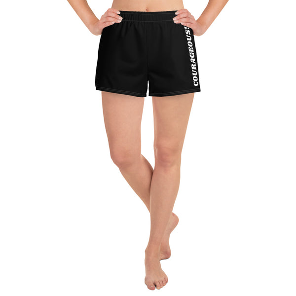I am Courageous! Athletic Shorts