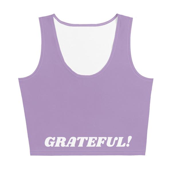 I am Grateful! CropTop