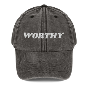 I am Worthy! Dad Hat