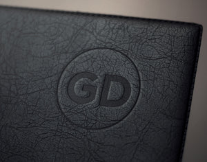 Leather Logo Mockup - Grand Design Shop