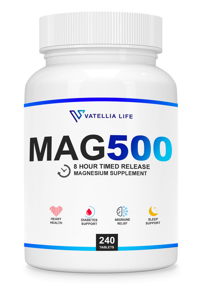 Sustained release magnesium supplement