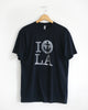 Navy I Anchor LA tee