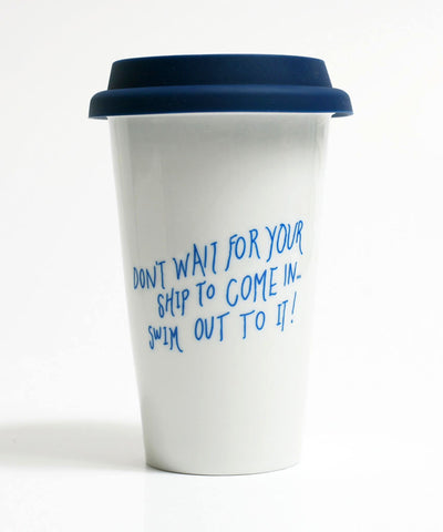 Porcelain Reusable Cup