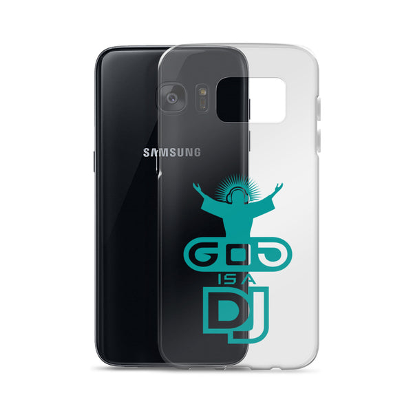 "Custodia per Samsung ""God is a DJ"" - WebLogo Store"
