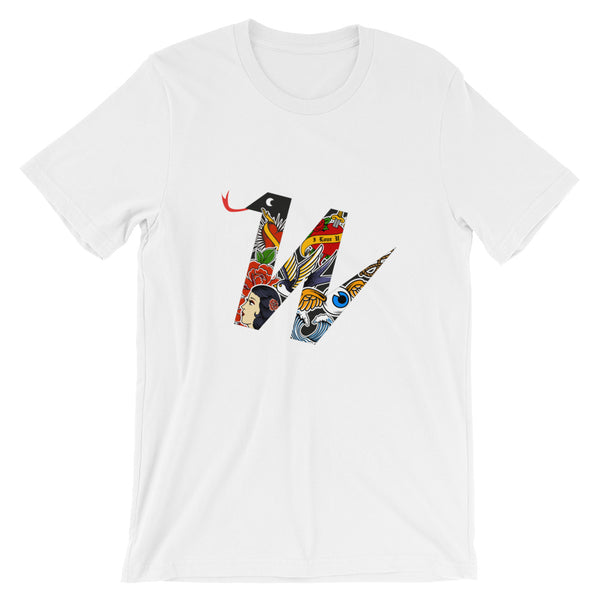"Unisex T-Shirt ""W"" Weblogo Collection tattoo - WebLogo Store"