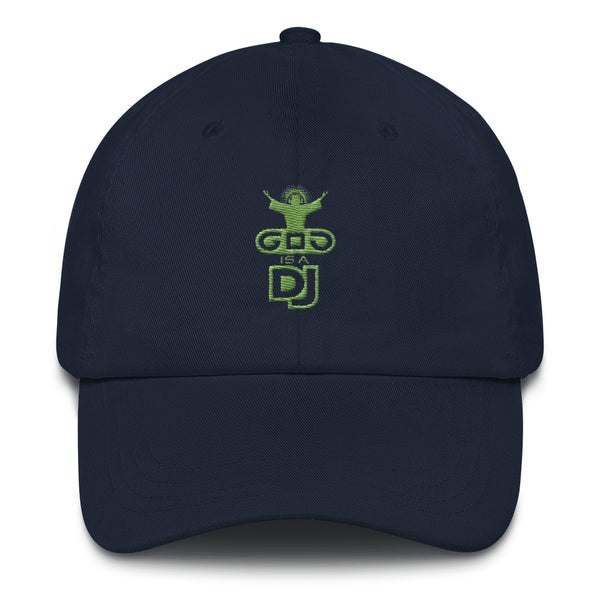 "Cappellino ""God is a dj"" - weblogo-shop.myshopify.com"