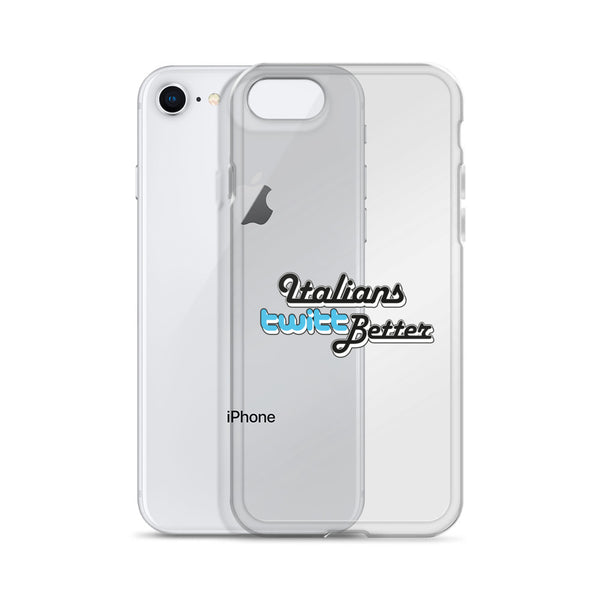 """Italians twitt Better"" su iPhone Case - WebLogo Store"